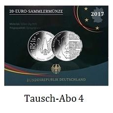 Sonder Abo 20 Euro Silber Deutschland Spiegelglanz Zum Ausgabepreis