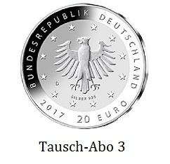 Tausch Abo 20 Euro Gegen 20 Euro Silber Deutschland Stempelglanz